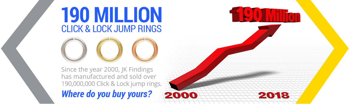 190 Million Click & Lock Jump Rings