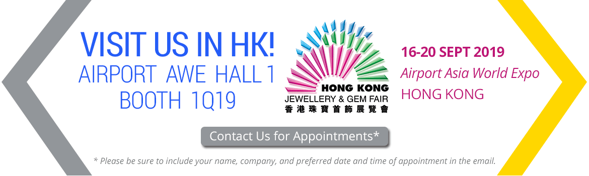 Visit JK Findings at the September Hong Kong Jewellery & Gem Fair